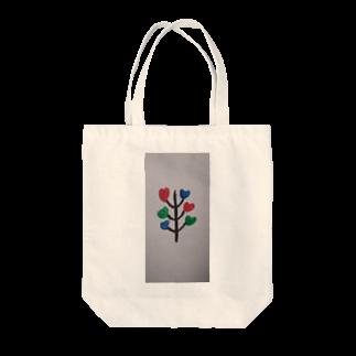 まるあるちの愛ハートの木 Tote bags