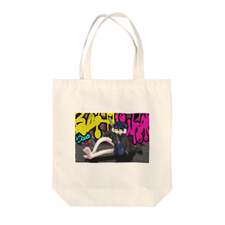 kyadaのstreet Tote bags