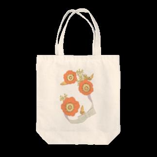 osen_cucchaneの花と蛾 Tote bags