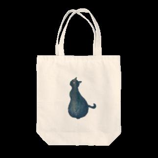 版画工房かさねの猫様版画グッズ Tote bags