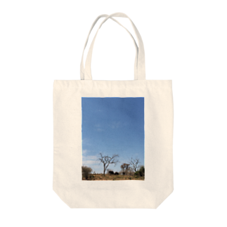 Hagのゾウと空 Tote bags