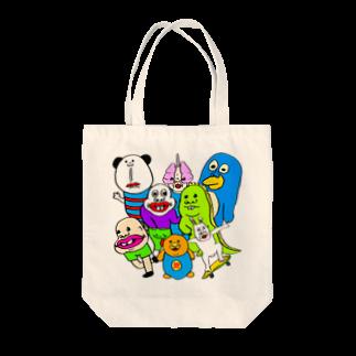 うめもと公式のドリームチーム Tote bags