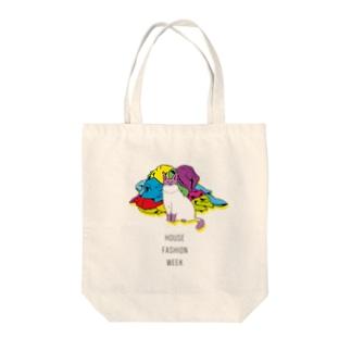 猫ざんまいのねこコレクション Tote bags