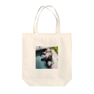 りんちゃん返り Tote bags