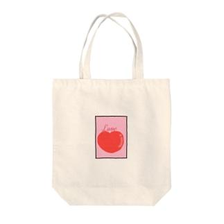 ラブ Tote bags