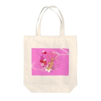 咲くLOVER-SAKURA Tote bags