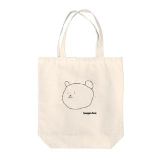 黄昏くま Tasogare bear. Tote bags