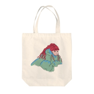 女の子③ Tote bags