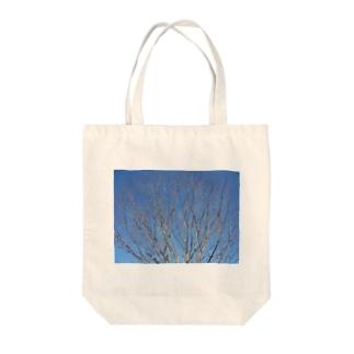 美しい空 Tote bags