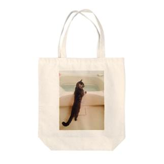 湯船 Tote bags