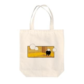 サウナで泣くOLのSAUNA_SASHITSU Tote bags