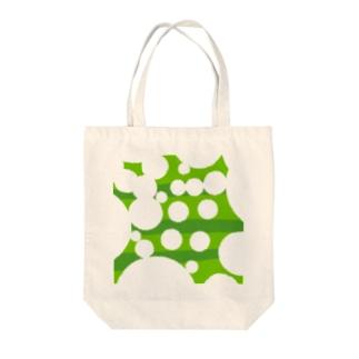 むしくいにほんごのお店の遠くから見ると「海」に見える Tote bags