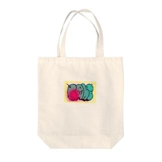 graffiti FAKE シール Tote bags