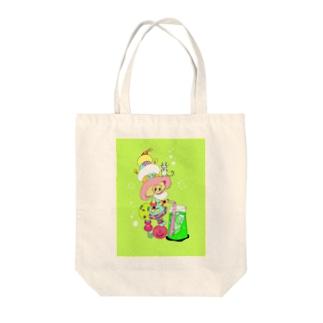 しゅわしゅわメロンソーダ Tote bags