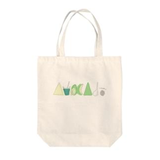 AvocAdoロゴ Tote bags