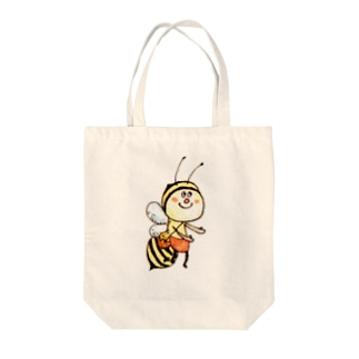 BEE shopのみつばち① Tote bags