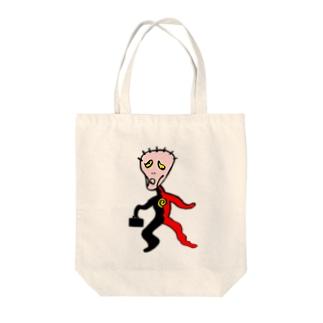"""えどさん"""" 作『さびざん""""マン』(NAS会員限定販売) Tote bags"""