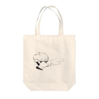 ぷかぷか男 Tote bags