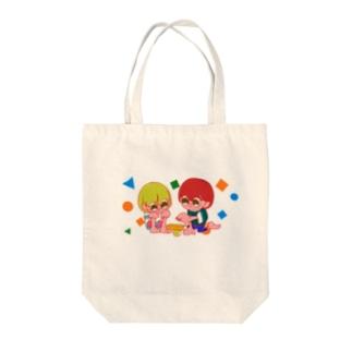 マルメキッズ(積み木) Tote bags