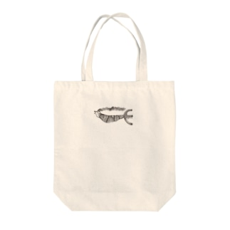 泳ぐアマビエ様 Tote bags