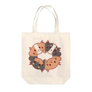 キャバリアの輪 Tote bags