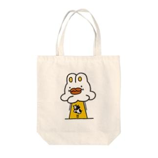 うさぎUFO Tote bags