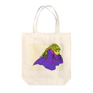 女の子⑤ Tote bags