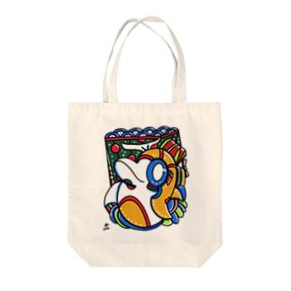 イルカスピリット Tote bags