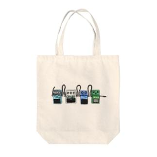 エフェクター Tote bags
