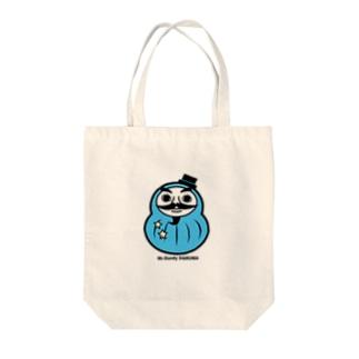 Mr.Dandy DARUMA (水色) Tote bags