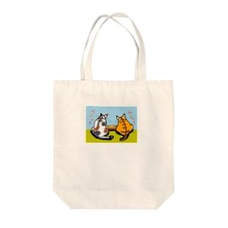 お食事中♡ Tote bags
