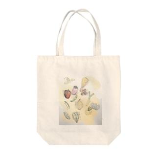 野菜生活 Tote bags