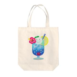 Yokokkoの店のSmile in Cream Soda🍹 Tote bags
