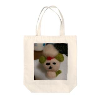 羊毛の犬 Tote bags
