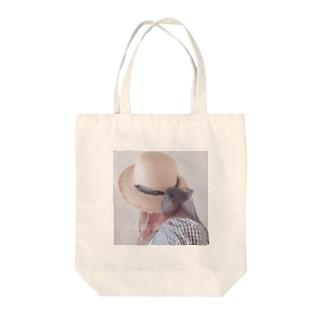 🍓🐯わかにゃん❤︎チャンネル登録よろしく🧸🩰🎀の一緒にお散歩しよ?~夏の日過ごした思ひ出~ Tote bags