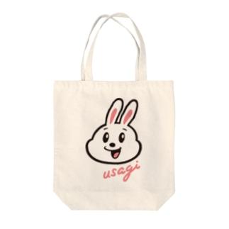 「usagi」トートバッグ Tote bags