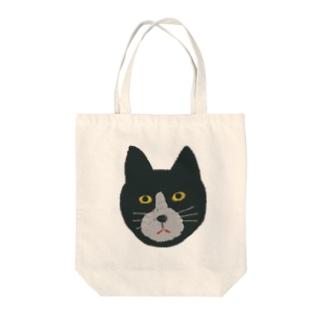 くろねこ‼︎ Tote bags