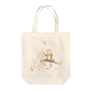ハイブリッド保育園 トートバッグ Tote bags
