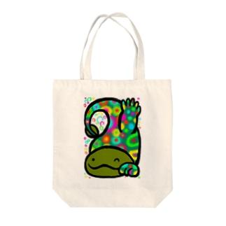 オオサンショウウオ Tote bags