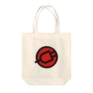 電源 Tote bags