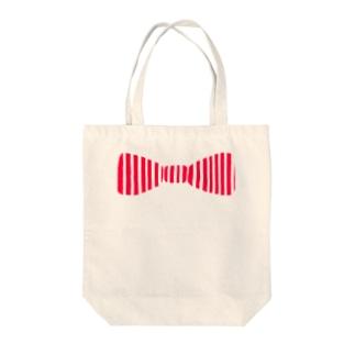 蝶ネクタイ Tote bags