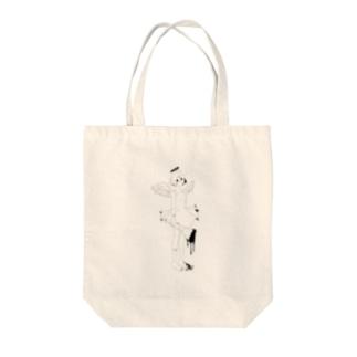 どうしても天使のグッズが作りたかった Tote bags