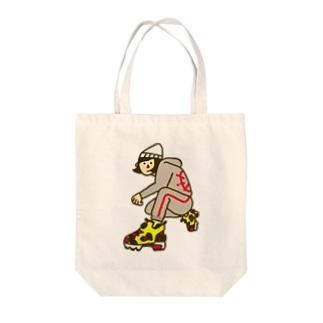 スニーカー見せたいガール Tote bags