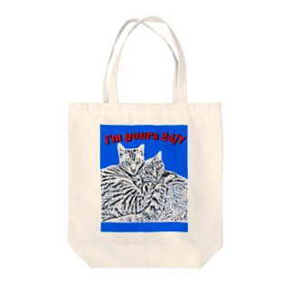I'm yours 24/7のi'm yours 24/7 Tote bags