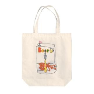 ビールサーバーベア Tote bags