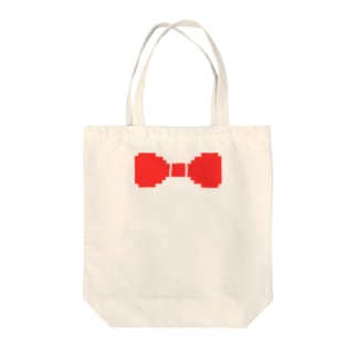 蝶ネクタイ ドット Tote bags