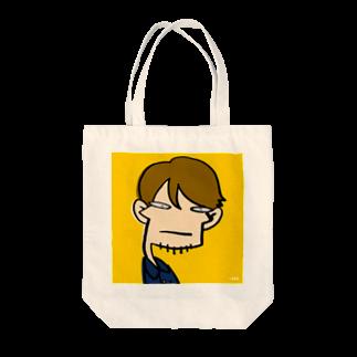 りおたのりおた真顔シリーズ Tote bags