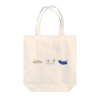 ブルー系ウミウシ3種 Tote bags