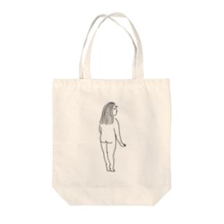 おんなの子 Tote bags