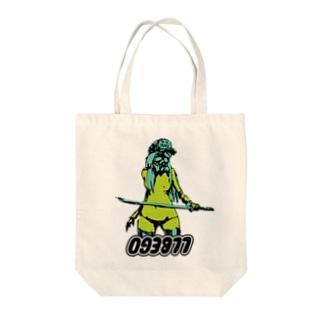 刀マスク Tote bags